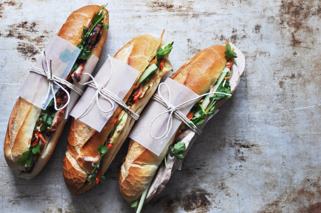 Banh Mi Three Types